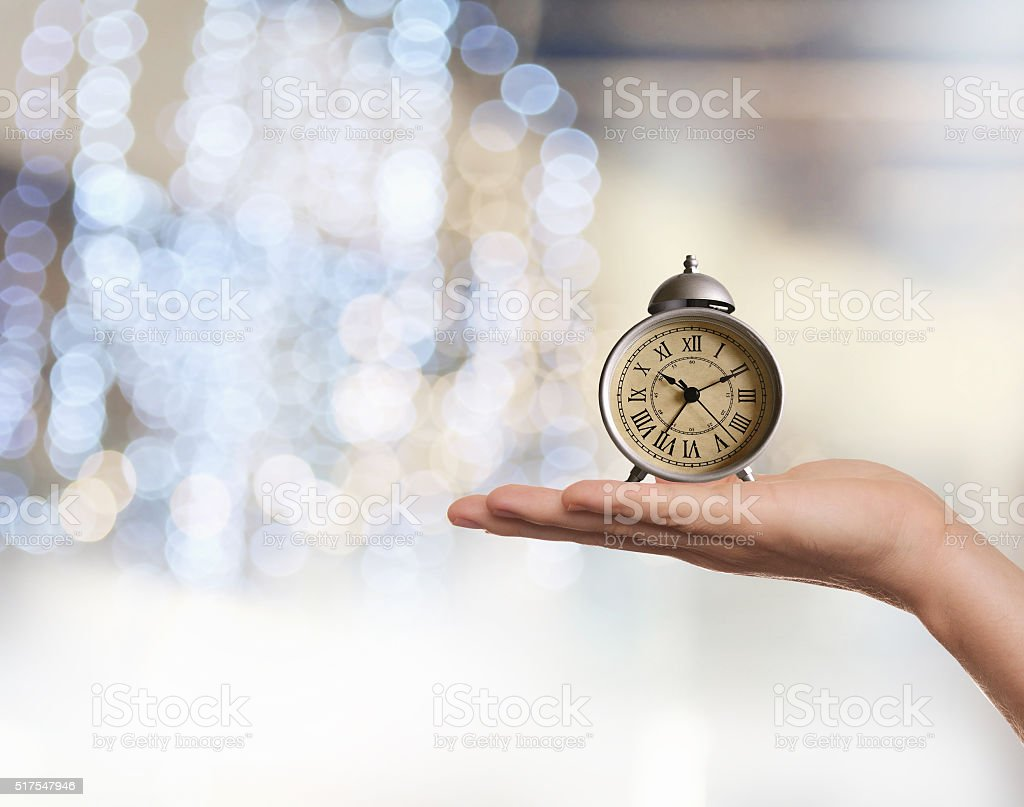 Time conceptual image stock photo