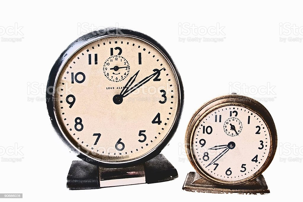 Time Confusion royalty-free stock photo