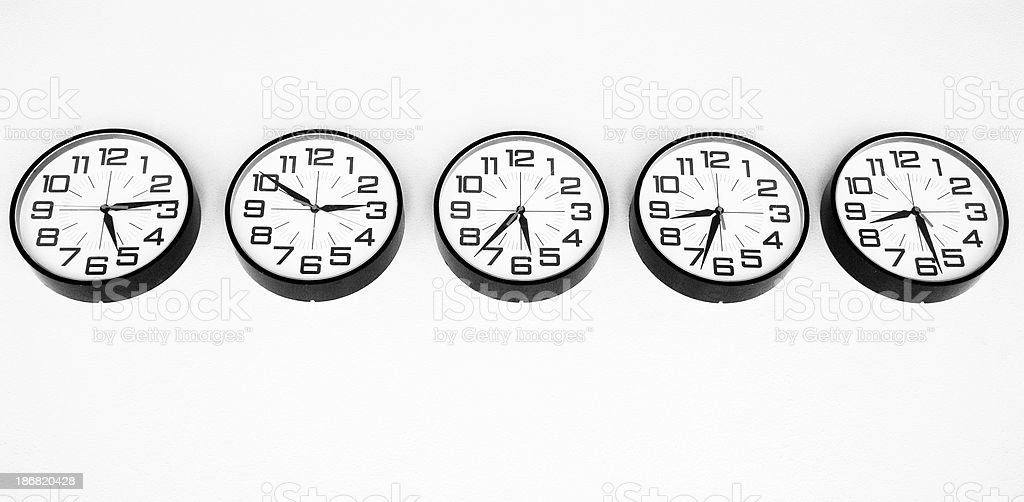 Time Confusion - What Time Is It? royalty-free stock photo