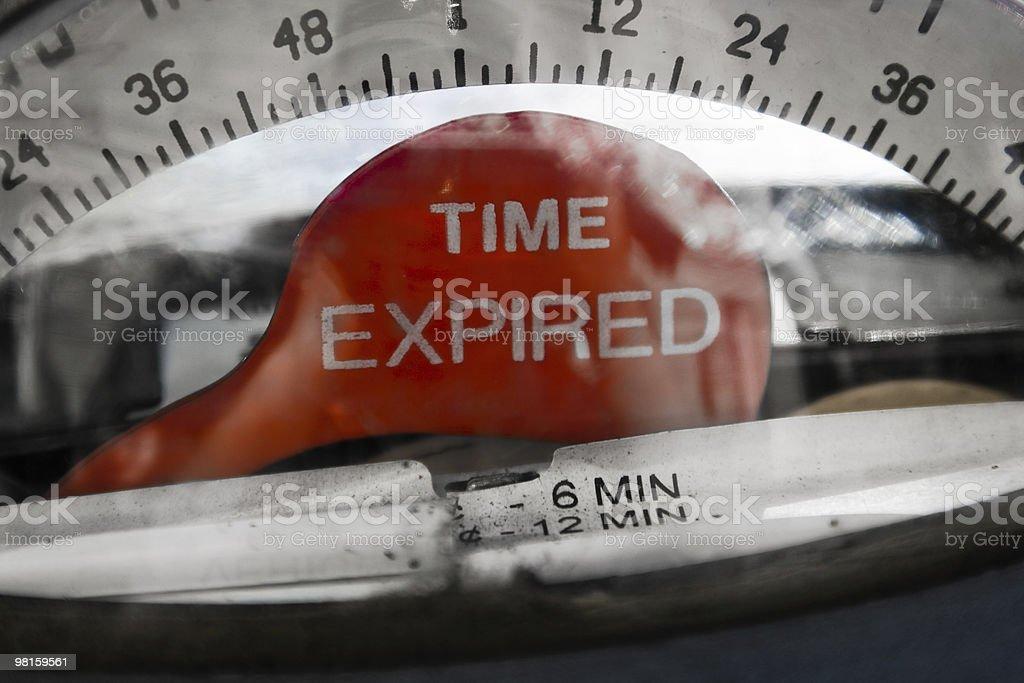 Time Expired stock photo