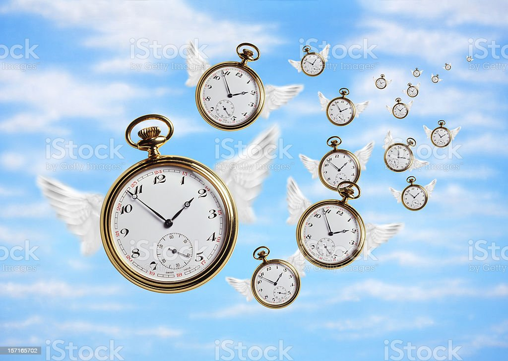 Time Flies 2 royalty-free stock photo