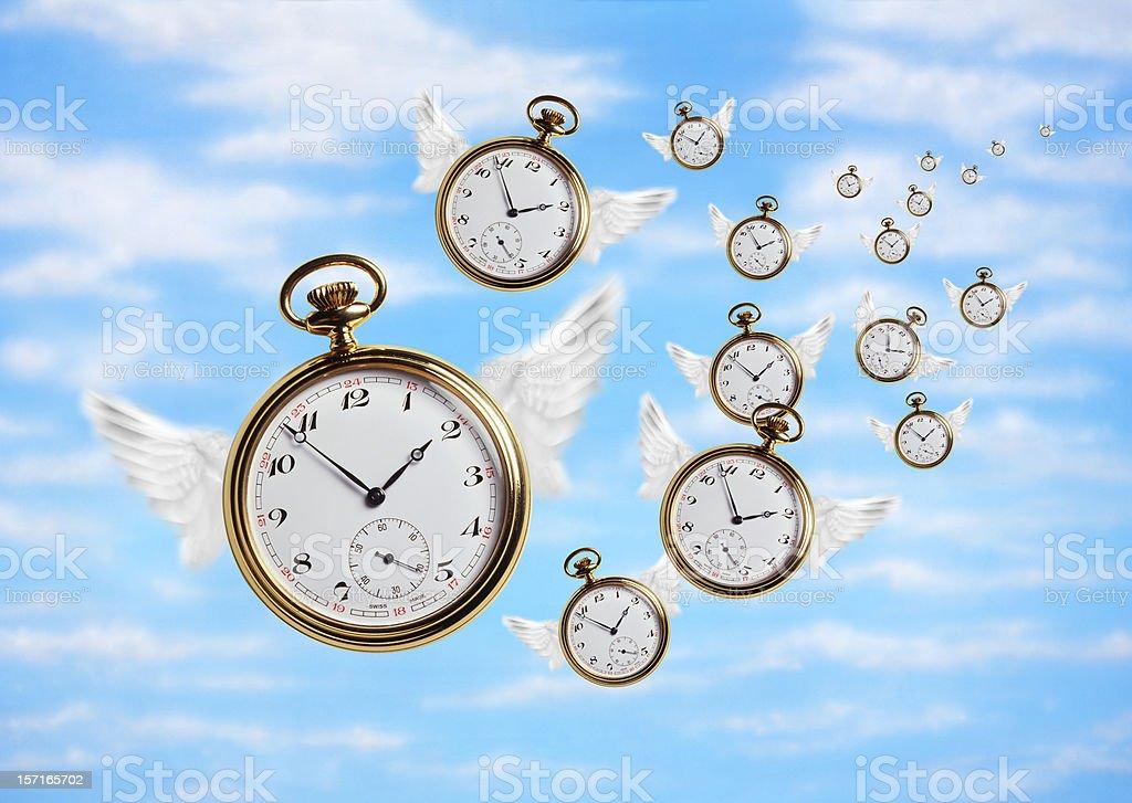 Time Flies 2 stock photo