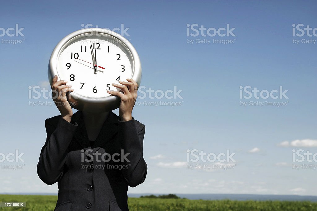 Time flies I royalty-free stock photo