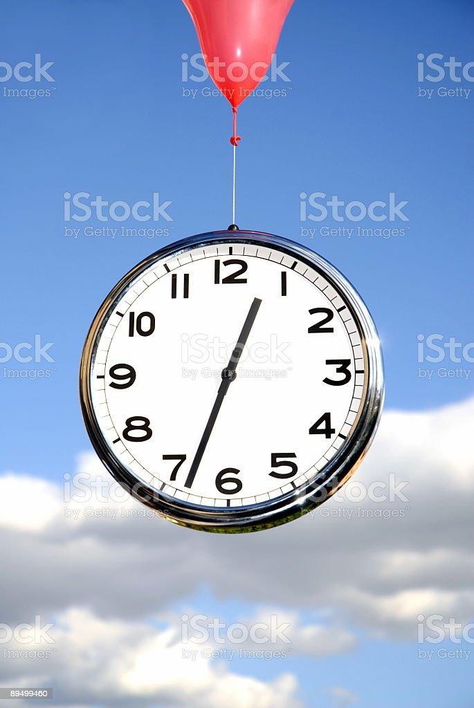 Il tempo vola foto stock royalty-free