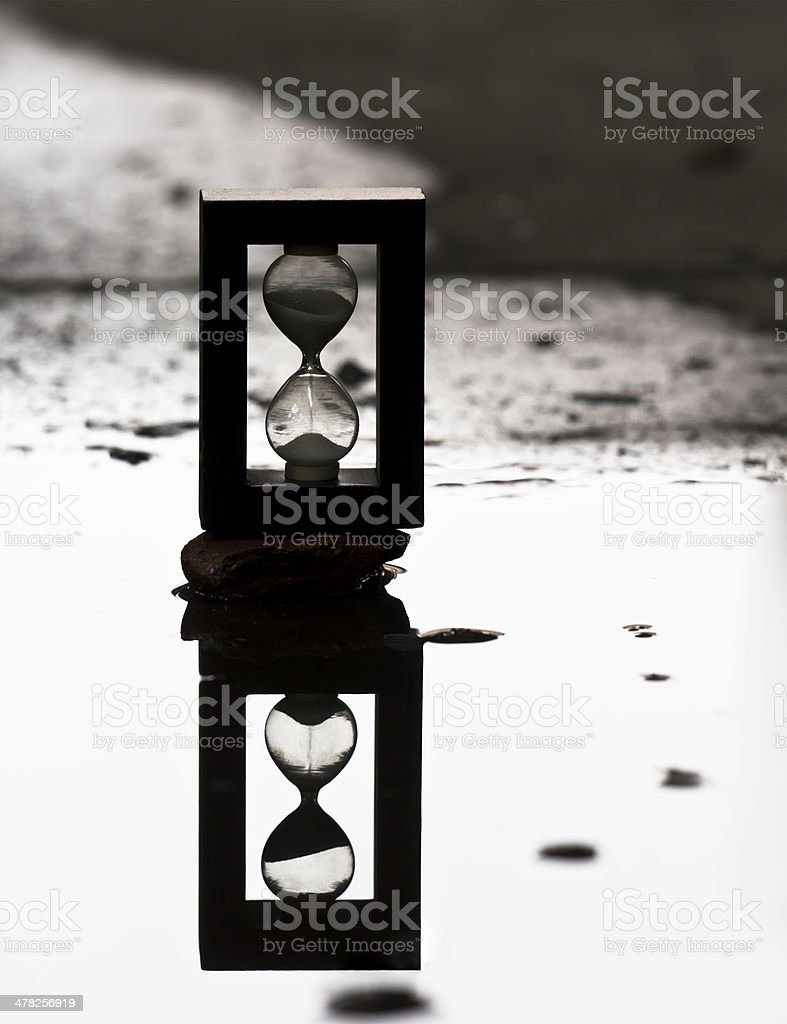 time flow stock photo