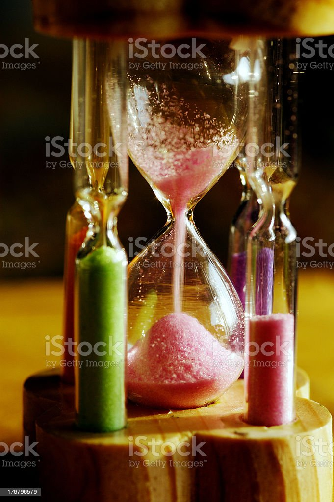 Time flowing stock photo