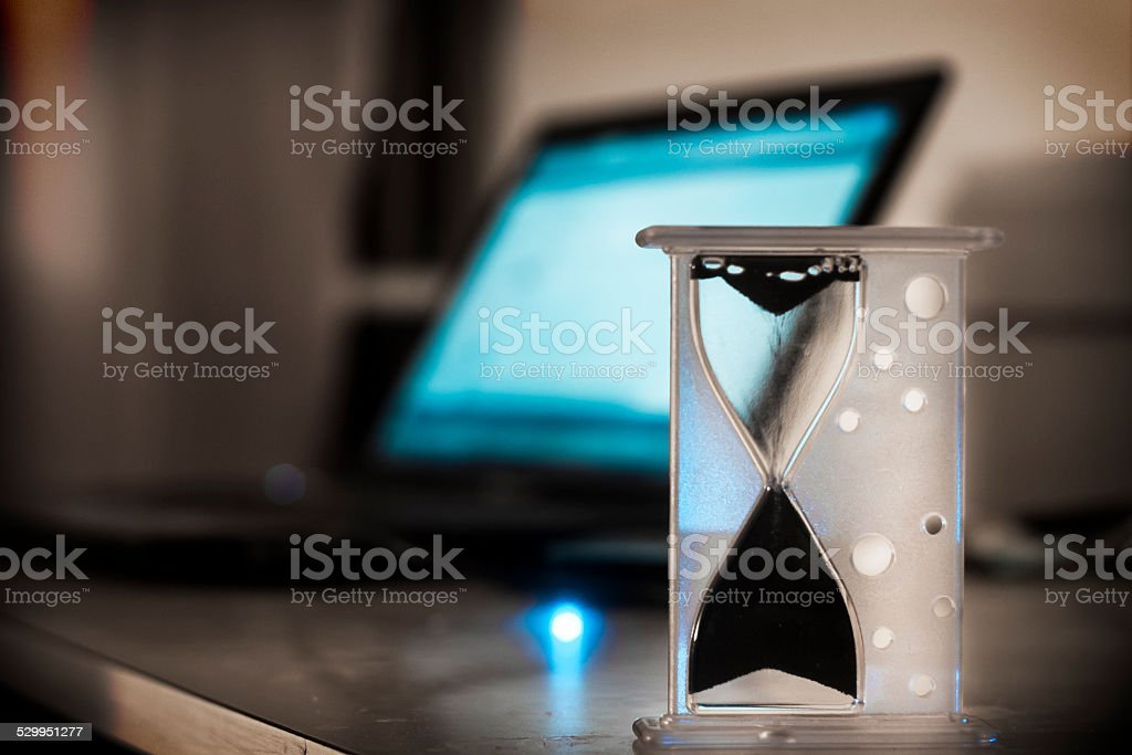 Time flows back stock photo
