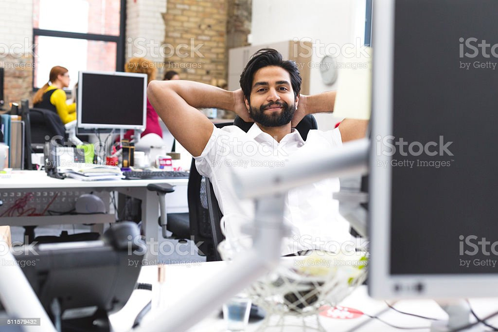 Time for a Break! stock photo