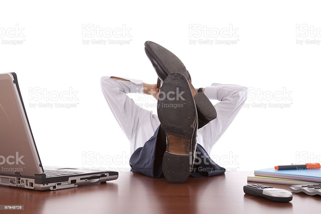 Time for a break royalty-free stock photo