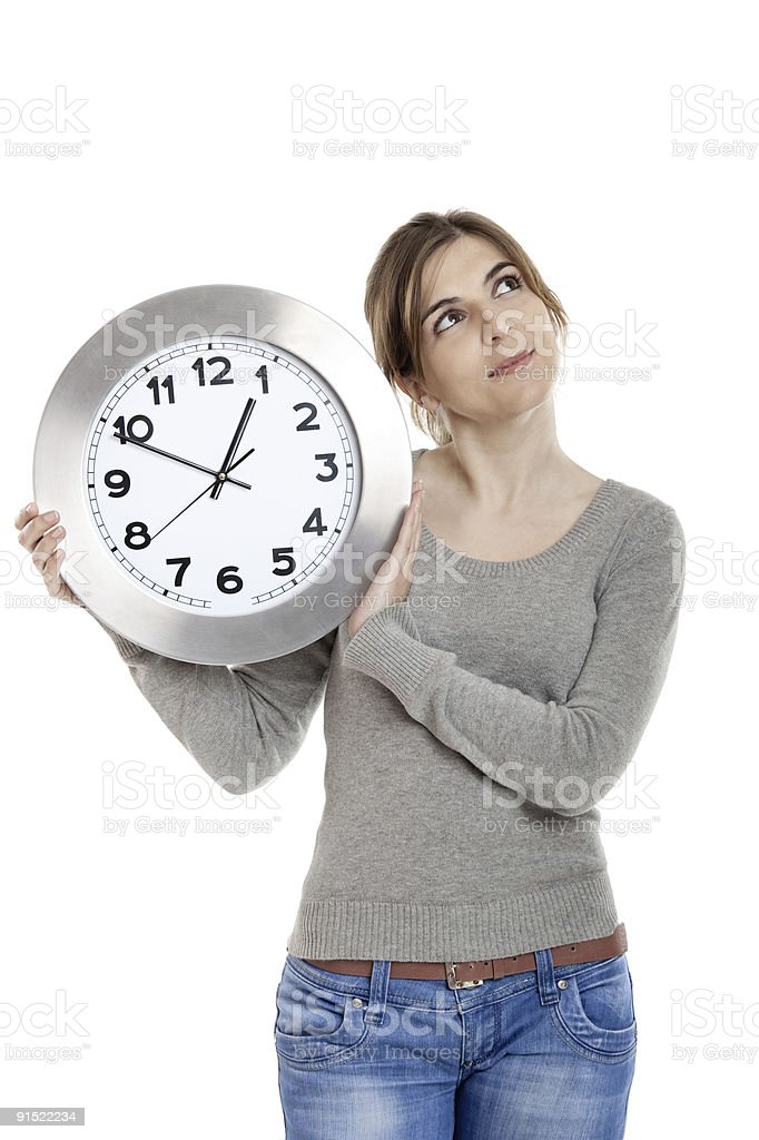 Time for a Change royalty-free stock photo
