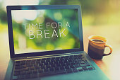 istock Time for a coffee break vintage editing style 489763838