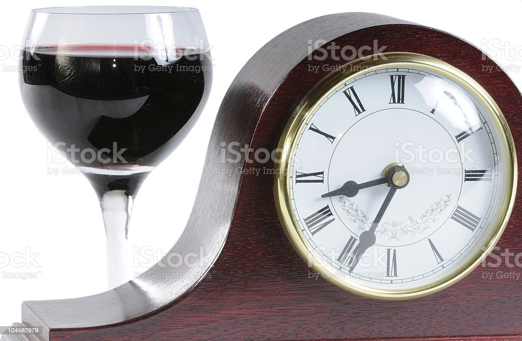 Time for a drink stock photo