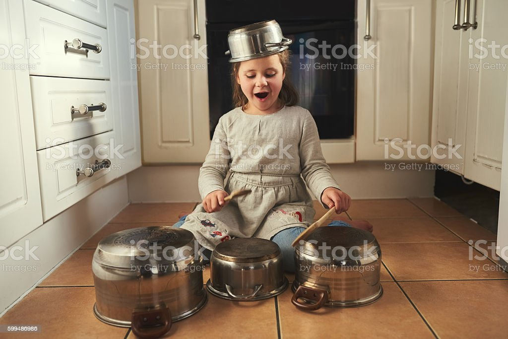 Time for a drumroll! stock photo