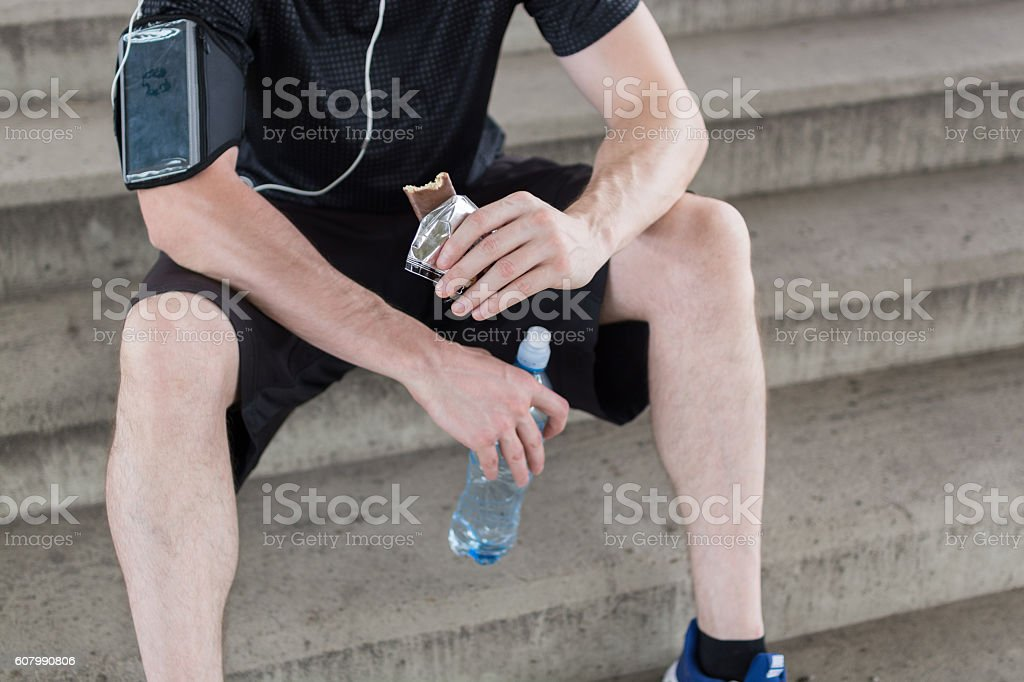Time for a refreshment stock photo