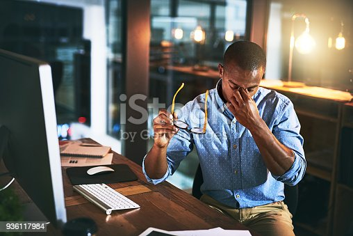 istock Time for a stress intervention 936117984