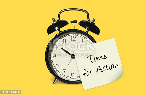 Time for action change alarm clock time note reminder