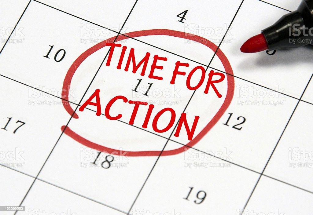 Zeit für action - – Foto