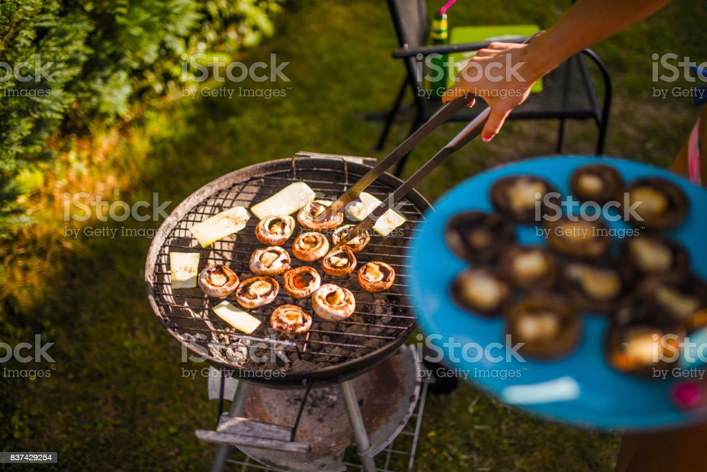 Time for barbecue stock photo