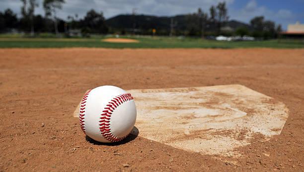 Time For Baseball stock photo