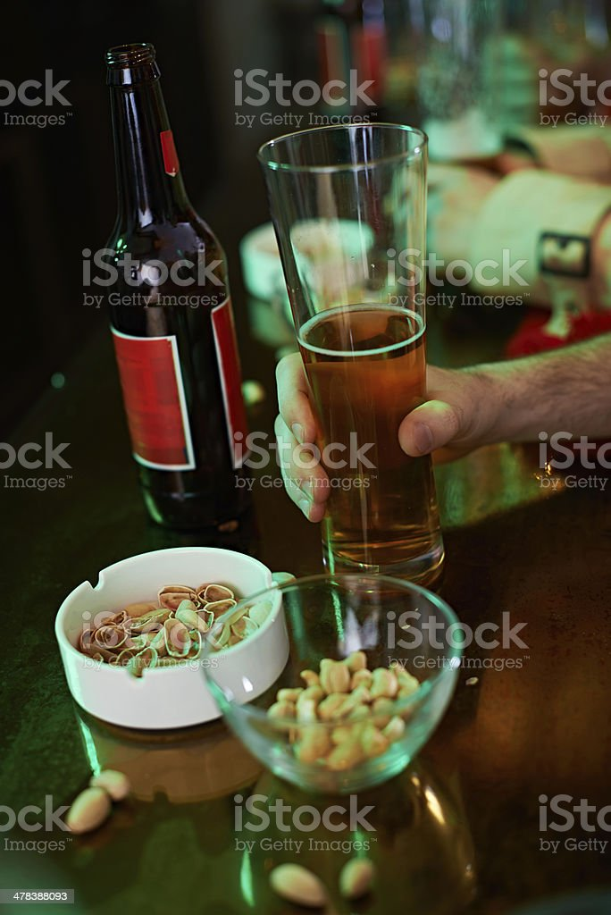Time for beer royalty-free stock photo