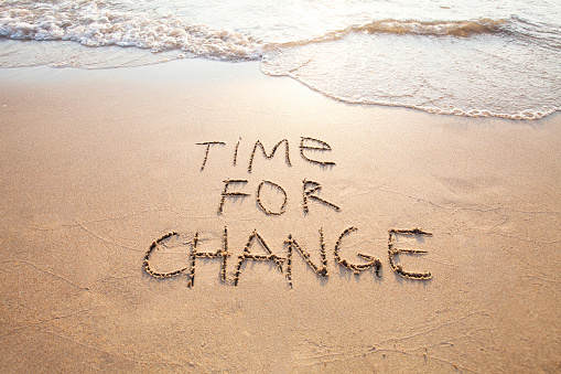 Time For Change Concept Of New Life Stock Photo - Download Image Now
