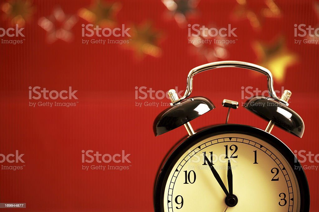 Time for Christmas and Presents royalty-free stock photo