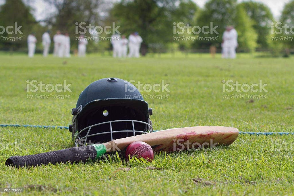 Time for cricket - foto de stock