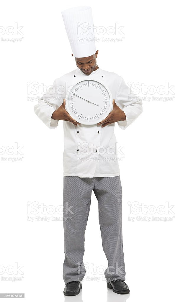 Time for dinner? royalty-free stock photo