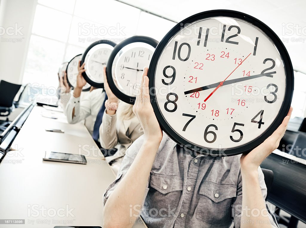 Time for education stock photo