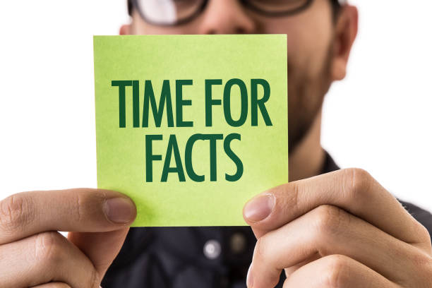 Time for Facts Time for Facts sign information equipment stock pictures, royalty-free photos & images