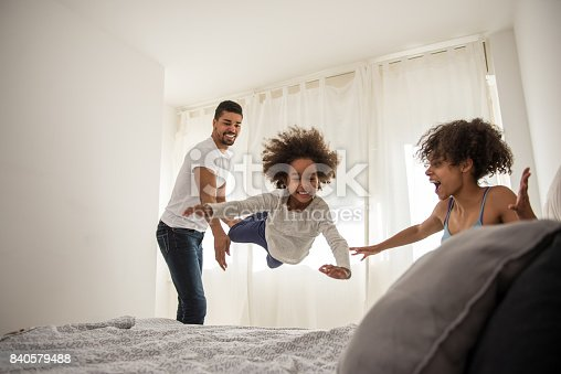 istock Time for fun with family 840579488