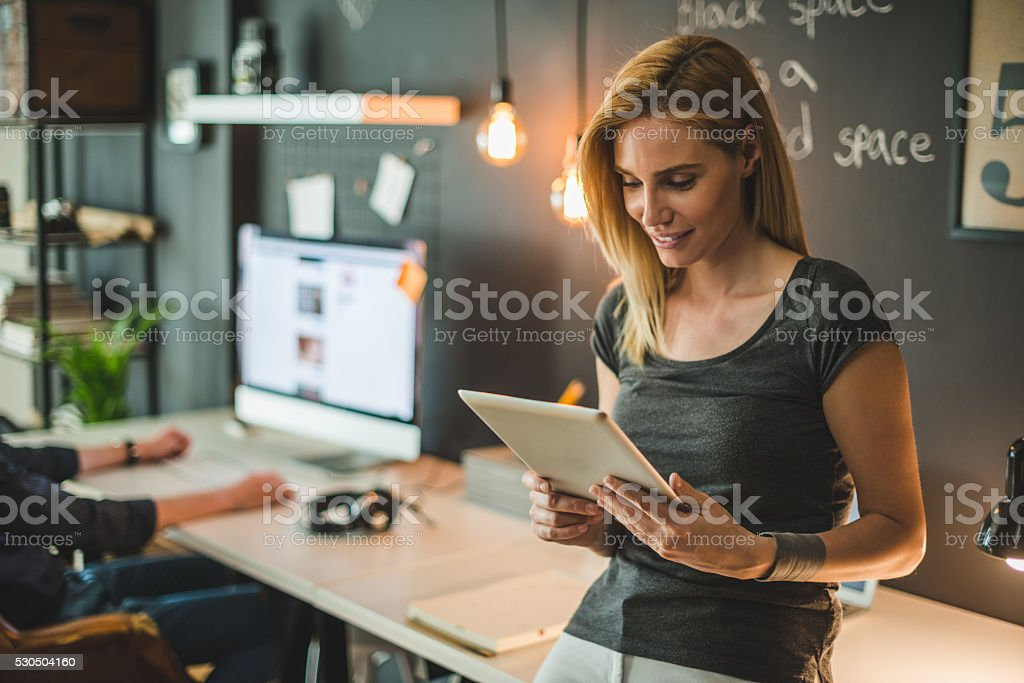Time for internet stock photo