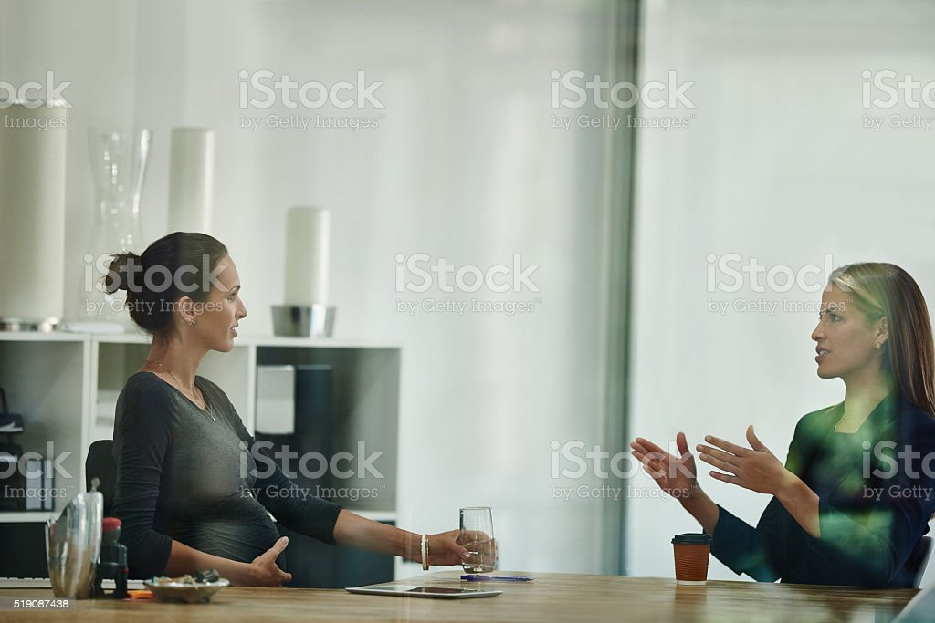 Time for one last meeting... stock photo