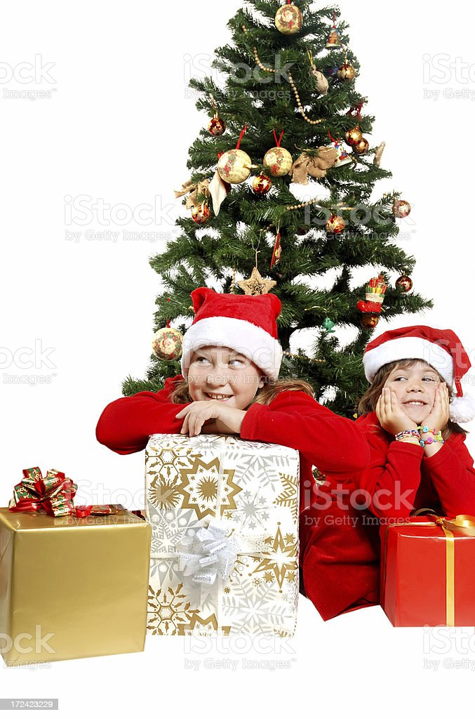 Time for presents stock photo