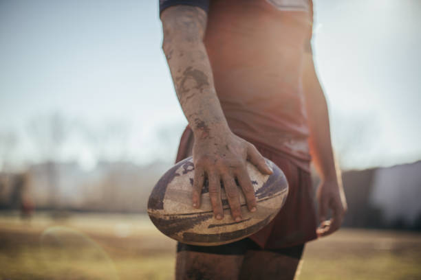 ラグビーのための時間 - ラグビー ストックフォトと画像