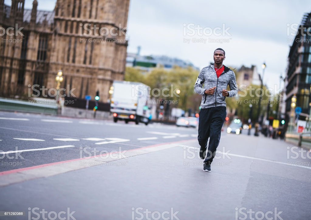 Time for running stock photo