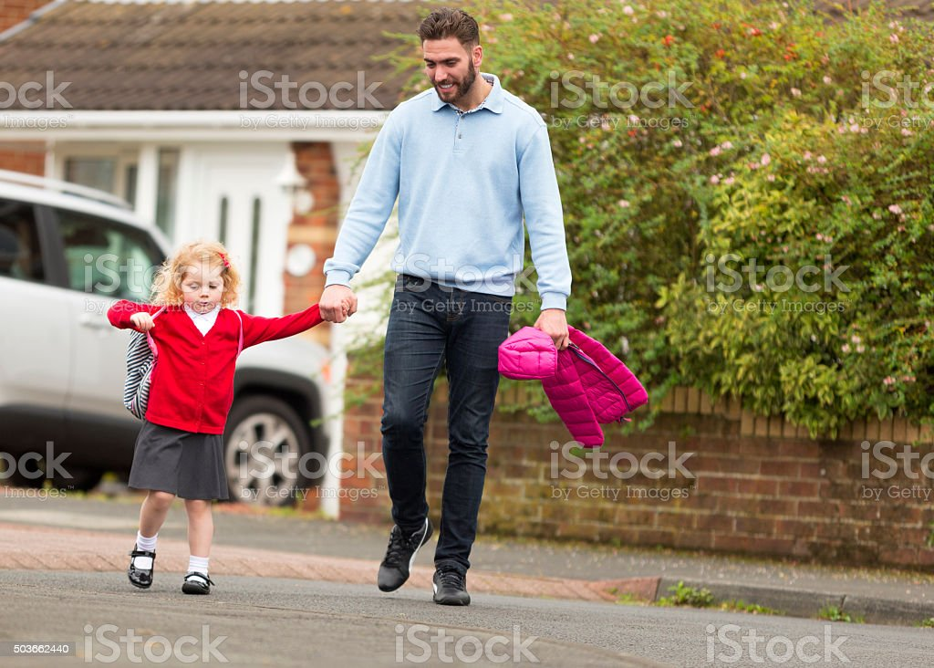 Time for School! stock photo