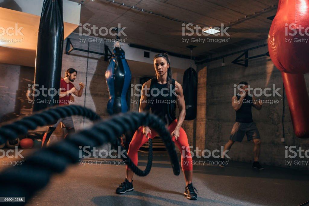 Zeit für einige Kampf-Seile – Foto