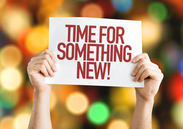 time for something new - new stock photos and pictures