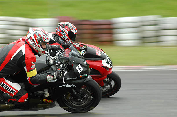 time for speed - motorbike racing stock photos and pictures