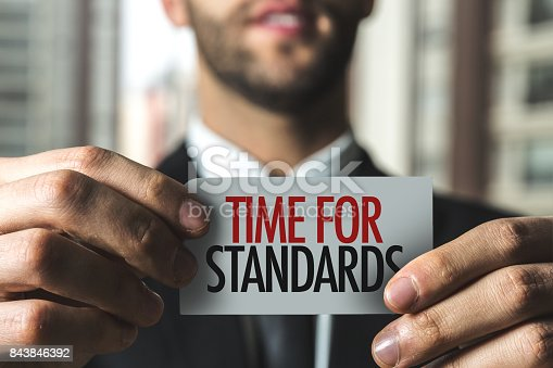 istock Time for Standards 843846392