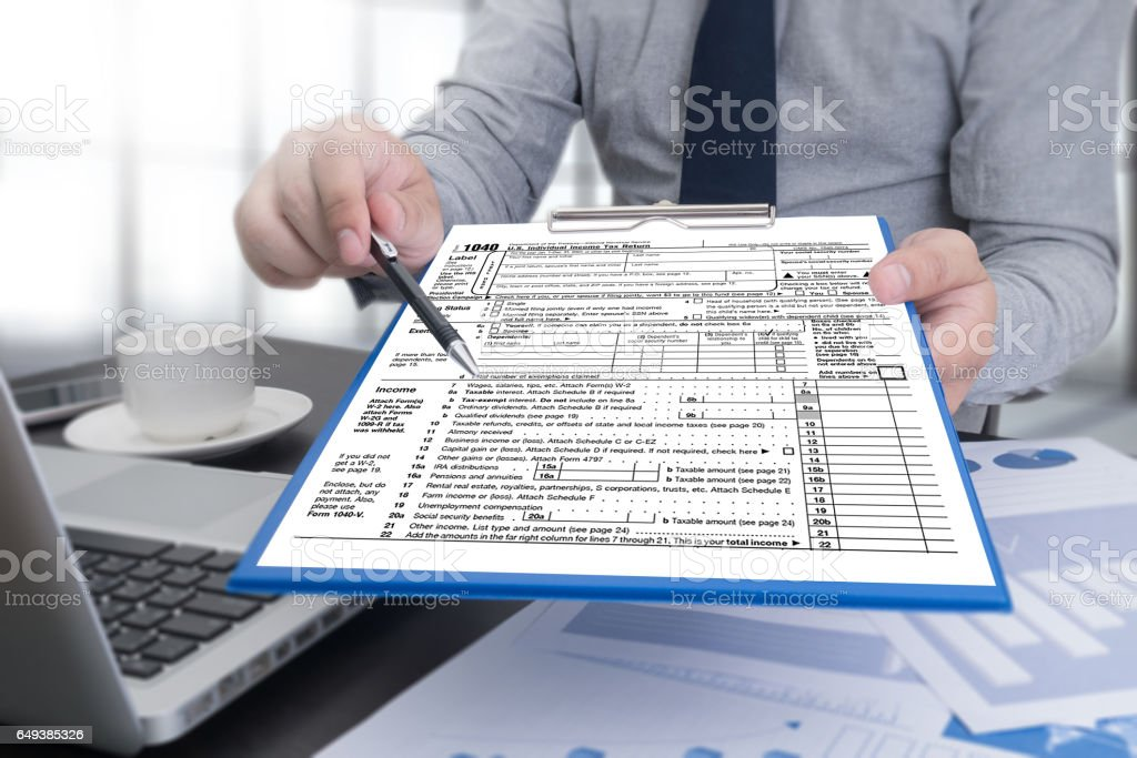 Image result for Tax Preparation istock