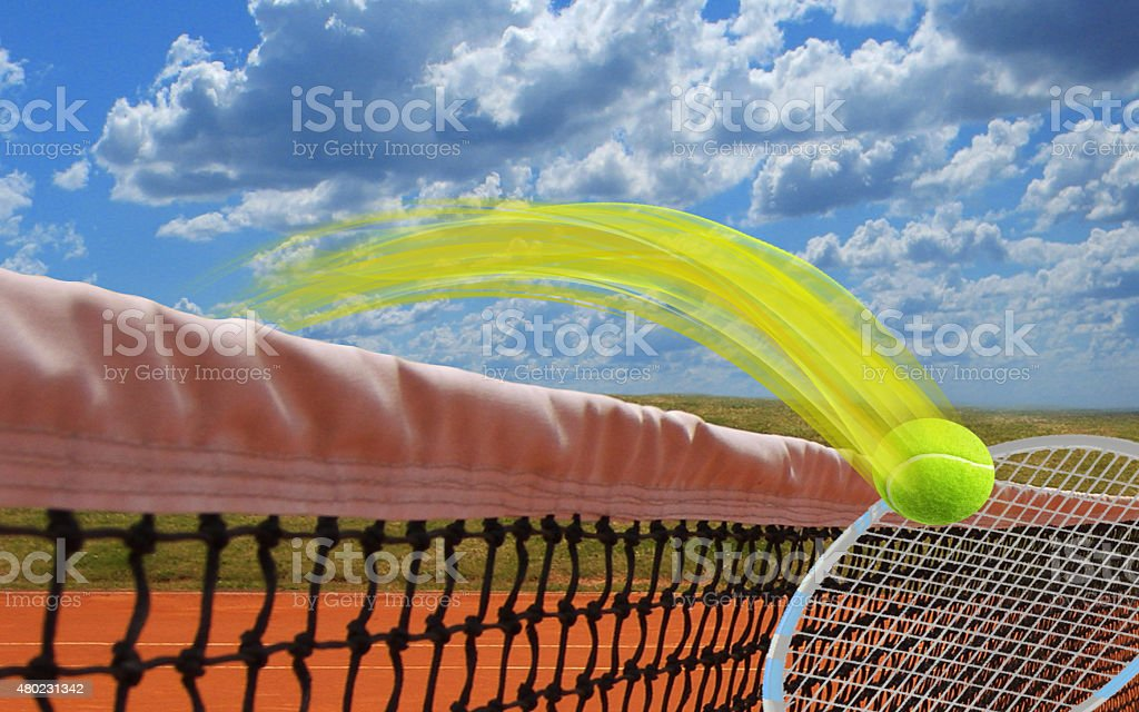 Time for Tennis stock photo
