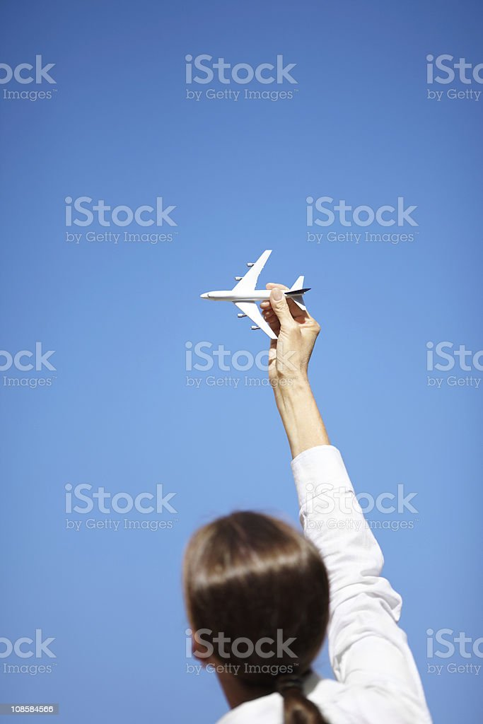 time for travel royalty-free stock photo