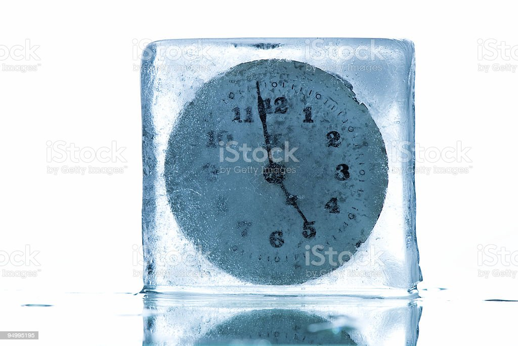 Time freeze royalty-free stock photo