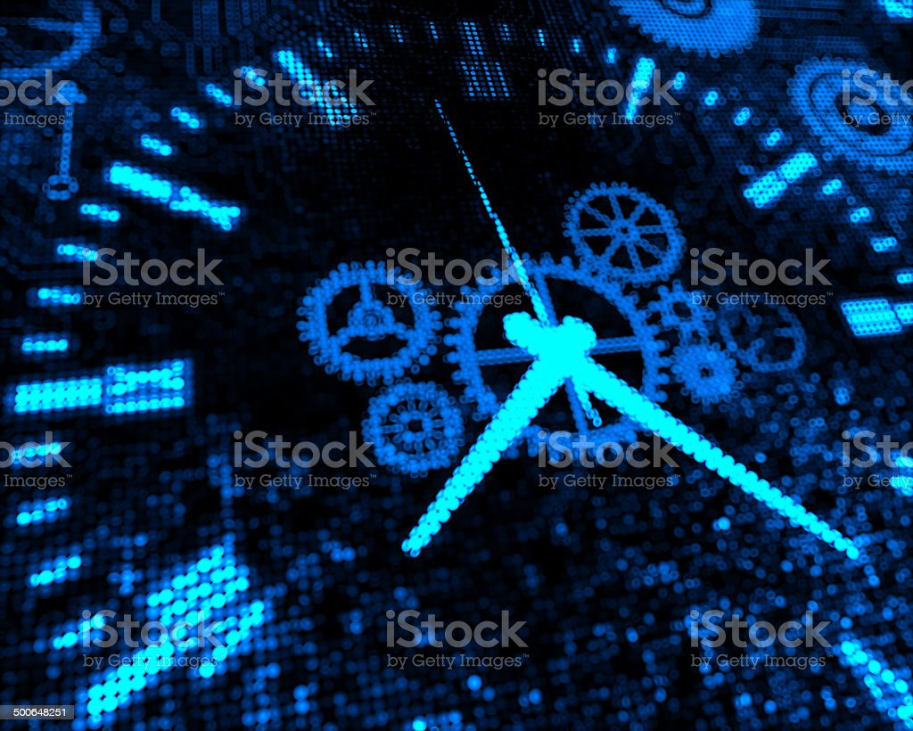 Time Gear concepts stock photo