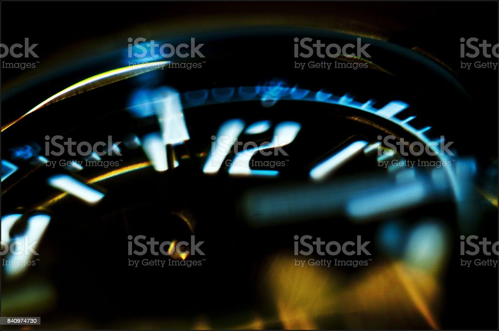 Time goes by fast stock photo