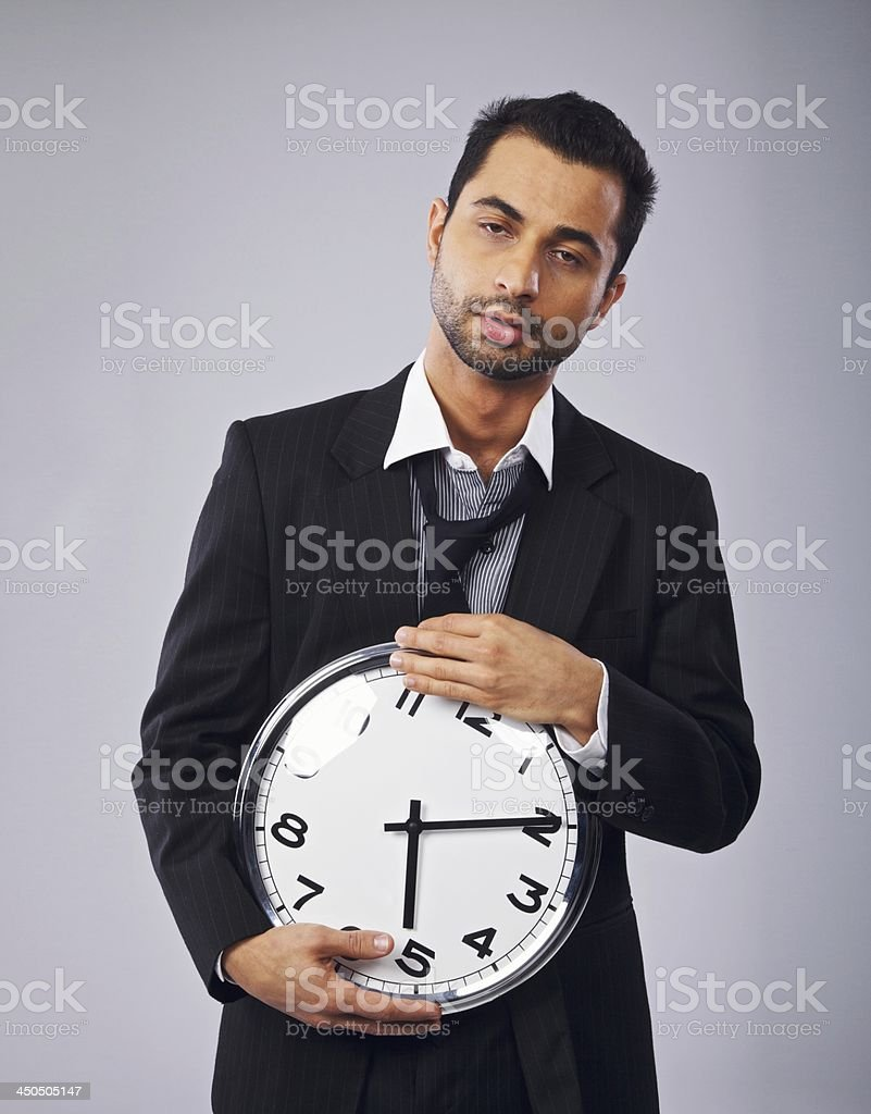 Time Goes By So Slowly stock photo