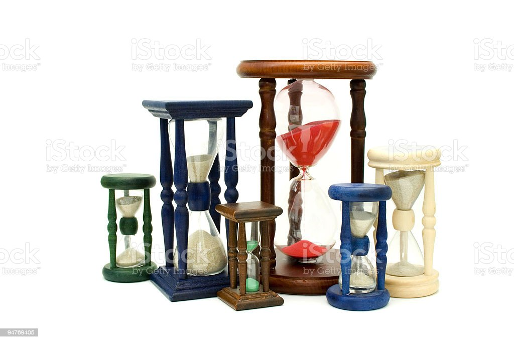 Time illustration royalty-free stock photo