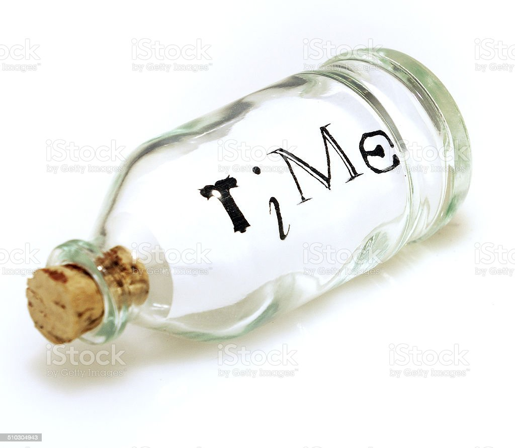 Time in a Bottle stock photo